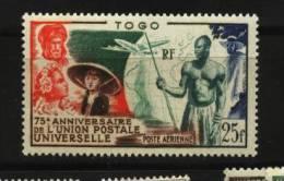 Togo  PA  N° 21   Neuf *   Cote Y&T  8,50 €uro  Au Quart De Cote