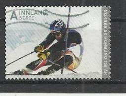 NORWAY 2008 - SKIING  - USED OBLITERE GESTEMPELT USADO - Skiing