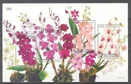 Thailand (2011)  - Block  -   /  Flowers - Flores - Fleurs - Blumen - Planten