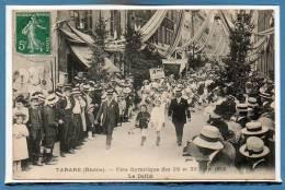 69 - TARARE -- Fête Gymnastique Des 29 Et 30 Juin 1912 - Le Défilé - Tarare