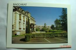 D 54 - Baccarat - Maison De Repos - Le Château - Baccarat
