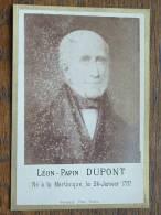Léon-Papin DUPONT Né à La Martinique Le 24 Janvier 1797 ( Phot. Cormery Tours - Anno ?? CDV (?) Details Zie Foto ) ! - Célébrités