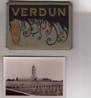 VERDUN  (55)  POCHETTE DE 12 VUES N/B 9x6 - EDITIONS V.G - War, Military