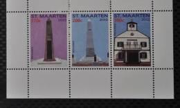 SINT MAARTEN ++ NEW NEW ++ 2012 SERIE MONUMENTEN MNH ** - Curacao, Netherlands Antilles, Aruba