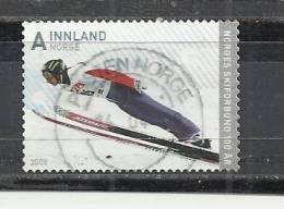 NORWAY 2008 - SKIING  - USED OBLITERE GESTEMPELT USADO - Ski