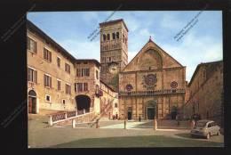 ASSISI Cattedrale Di San Rufino ( Auto Macchina FIAT 500 ) - Italie