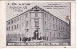Grand Hotel Du Levant Marseille  Original Postcard Ca 1900 [W3_0474] - Hoteles & Restaurantes