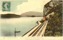 73/CPA -  Lac Du Bourget - Ligne De Chemin De Fer - Le Bourget Du Lac