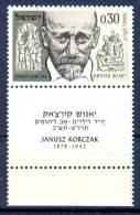 Israel - 1962, Michel/Philex No. : 264,  - MNH - *** - Full Tab - Neufs (avec Tabs)