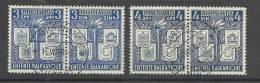 1940YugoslaviaS.H.S. Mino 422-425 Balkan Entente - Usati