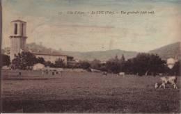 83 LE LUC - VUE GENERALE ( COTE SUD ) CPA COLORISEE - Le Luc