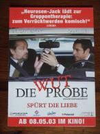 Wut Die Probe Movie Film Carte Postale - Unclassified