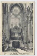 BOURGES : Intérieur De La Cathédrale - Les Grandes Orgues Et La Rosace - E.M.B., - Bourges