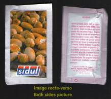 Sachet Sucre Sugar Zucchero Zucker Azucar Açucar SIDUL Recette Nougat PORTUGAL - Sucres