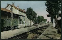 16 - B8881CPSM - CHAMPAGNE MOUTON - La  Gare Du PO - Parfait état - CHARENTE - France