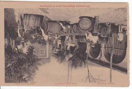 Tarjeta Postal Domecq Jerez Barrel Ready To Go Spain Cognac Vins Postcard Ca1900 [W3_0547] - Cádiz
