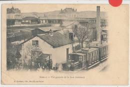 ROMILLY  SUR SEINE - Vue Générale De La  Gare(train ) - Romilly-sur-Seine