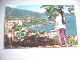 Mexico Acapulco Nice Panorama With Girl - Mexico