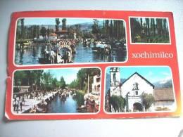 Mexico Larger Postcard Xochimilico - Mexico