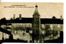 03 ECHASSIERES : Château De Beauvoir Vue Intérieure (ancien Château Fort) - Francia