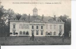 AVESNES-LE-COMTE  Chateau De Saulty 1914 - Unclassified