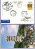 Special Airmail Portugal TAP AIR 1 Voo FUNCHAL - FRANKFURT 3.4.2003 Zuleitung Ab Hong Kong (249) - Luftpost