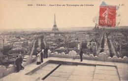 21084 Paris Sur Arc Triomphe De L'étoile. 689 J.H.
