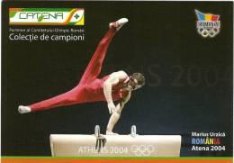 3 ROMANIAN GYMNASTS:MARIAN DRAGULESCU;MARIUS URZICA;FLAVIUS KOCZI-CHAMPIONS;OLYMPIC;W ORLD;EUROPEAN - Gymnastics