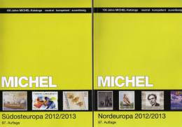 Michel Katalog Südost-/Nord-Europa 2013 Neu 116€ Band 4+5 Finnland Lettland Litauen Norwegen Schweden - Vieux Papiers