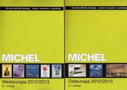 Michel Katalog Südost-/West-Europa 2013 Neu 116€ Band 4+6 Belgien Lux NL UK EIRE BG Greece Kreta Ägäis Romania TK Cyprus - Oude Documenten