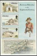 GIB1984-467-70 MILITARY, GIBRALTAR, S/S, MNH - Militaria