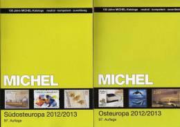 Michel-Katalog Südost-/Ost-Europa 2013 Neu 116€ Band 4+7 : BG GR RO TR Cyprus Polska Russia USSR UA Belorussia Moldawia - Collections