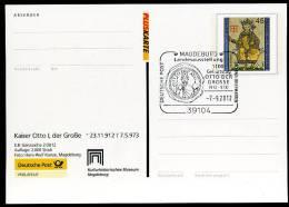 25229) BRD - Ganzsache 2/2012 - Michel PSo ? - Otto Der Große - Unclassified