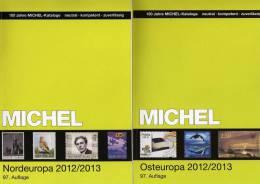 Michel Katalog Nord-/Ost-Europa 2013 Neu 116€ Band 5+7: Finland Lettland Litauen Norge Sverige Esti PL Russia USSR UA BR - Vieux Papiers