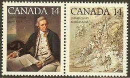 CANADA 1978 MNH Stamp(s) James Cook 687-688 #5685 - 1952-.... Reign Of Elizabeth II