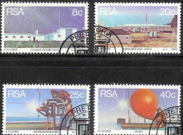 SOUTH AFRICA 1983 CTO Stamp(s)Weather Stations 626-629 #3564 - South Africa (1961-...)