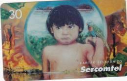 BRAZIL(Sercomtel) - Lagrimas De Uma Raca/Tutti Nunes, Tirage 20000, 07/01, Used - Brazil