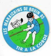 Autocollant Sport Tir à La Corde - Les Maraichins De Bouin 85 - Stickers