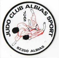 Autocollant Sport Judo - Club Albias (82350) - Stickers