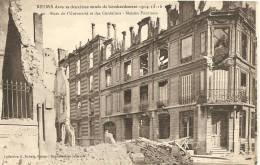 Cartes De 1914 - 1918     REIMS  Rues De L'Université Et Des Cordeliers - France