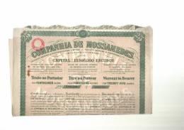 COMPANHIA  DE  MOSSAMEDES  -  Planche  Complète - Industrie