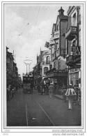CPA -  LE TOUQUET - PARIS - PLAGE  (62)  RUE  DE  PARIS  -  Tramway -  Marchand Ambulant. - Le Touquet