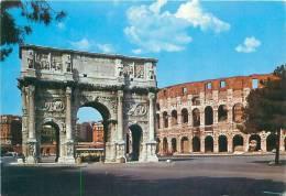 CPM - ROMA - Colosseo E Arco Di Costantino (Kasmo, 323) - Colisée