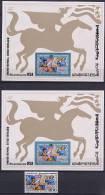 Tunisia 1976 US Bicentennial Stamp + 2 S/s MNH - Unabhängigkeit USA
