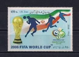 IRAN 2006, YVERT 2737**, TEMA FÚTBOL, COPA MUNDIAL FIFA ALEMANIA 2006 - 2006 – Duitsland