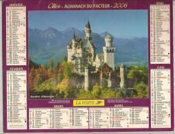 2006 DOUBLE CALENDRIER POSTE ALMANACH DES P.T.T 08 ARDENNES OLLER - Big : 1941-60