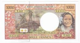 """Polynésie Française / Tahiti - 1000 FCFP / T.049 / 2012 / """"Nouvelles Signatures"""" - Neuf / Jamais Circulé - Papeete (Polynésie Française 1914-1985)"""