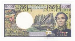 Polynésie Française / Tahiti - 5000 F CFP - Alphabet T.015 / 2011 / Signatures Barroux / Noyer / Besse - Neuf / UNC - Papeete (Polynésie Française 1914-1985)