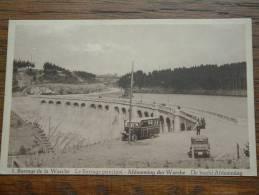 Barrage De La Warche / Afdamming - Anno 1934 ( Zie Foto Voor Details ) !! - Waimes - Weismes