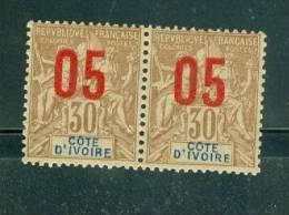 Cote D'ivoire Dallay N°37** En Paire ,  Neuf Sans Charnière -  Ah7707 - Côte-d'Ivoire (1892-1944)